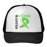 Lyme Disease Wanted A Cure Mesh Hat