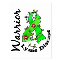 Lyme Disease Warrior 15 Postcard