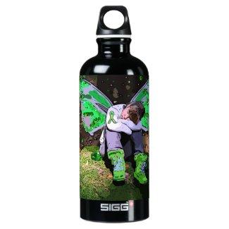 Lyme Disease Warrior Angel or Fairy Water Bottle