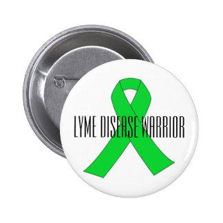 Lyme Disease Warrior Pin