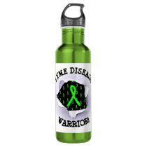 Lyme Disease Warrior Water Bottle