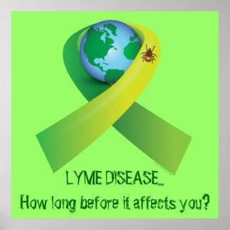 Lyme en todo el mundo póster