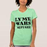 Lyme guerrea refugiado camiseta