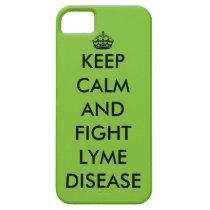 Lyme Keep Calm Phone Case