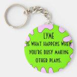 Lyme Keychain