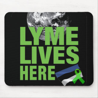 Lyme Lives Here in Estonia Mouse Pad