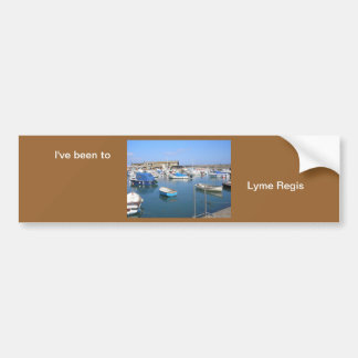 Lyme Regis, Dorset Bumper Sticker