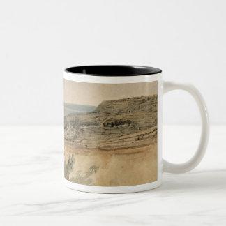 Lyme Regis, Dorset, c.1797 (w/c over pencil on tex Mug