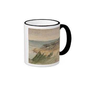 Lyme Regis, Dorset, c.1797 (w/c over pencil on tex Mugs