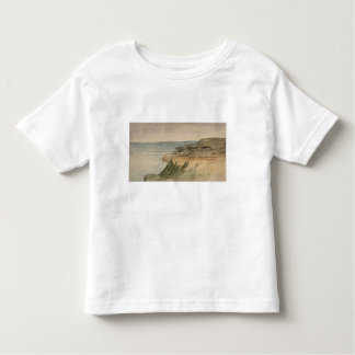 Lyme Regis, Dorset, c.1797 (w/c over pencil on tex Toddler T-shirt