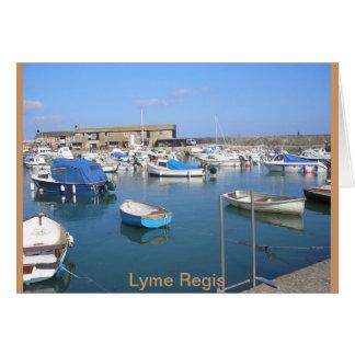 Lyme Regis, Dorset Tarjeta De Felicitación