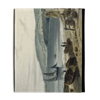 Lyme Regis, from Charmouth, Dorset, from 'A Voyage iPad Folio Case