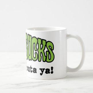 Lyme Sucks Classic White Coffee Mug