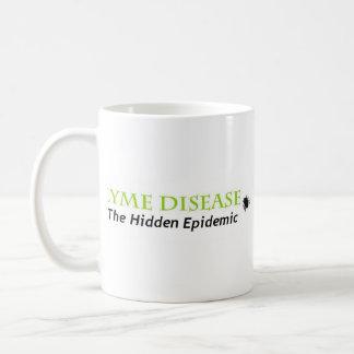 lyme the hidden epidemic, lyme the hidden epidemic classic white coffee mug
