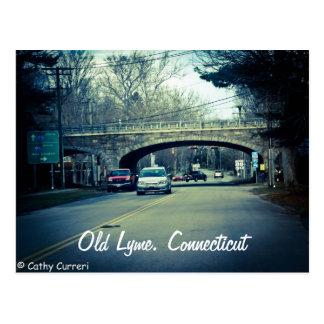 Lyme viejo, postal de Connecticut