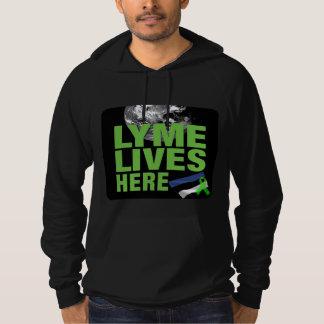 Lyme vive aquí Noruega Sudadera