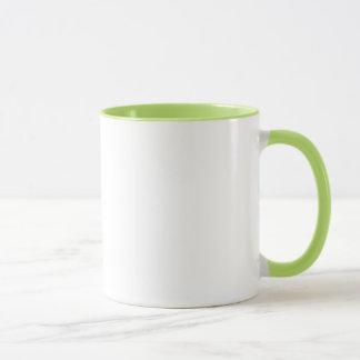 Lyme vive verde de la materia II taza del