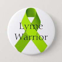 Lyme Warrior Button