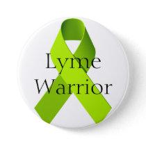 Lyme Warrior Button