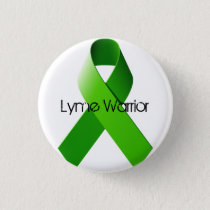 Lyme Warrior Pin