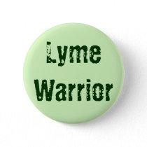 Lyme Warrior Pinback Button