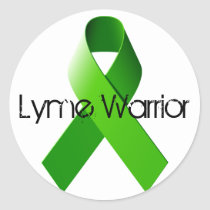 Lyme Warrior Sticker