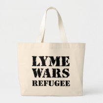 Lyme Wars Refugee Large Tote Bag