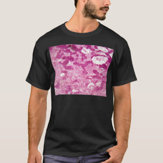 Lymph node cells under the microscope. T-Shirt