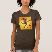 """Lymph Reclamation"" Lymphedema Pride T-Shirt Brown"