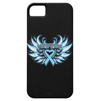 Lymphedema Awareness Heart Wings iPhone 5 Case