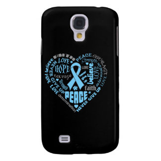 Lymphedema Awareness Heart Words Galaxy S4 Case