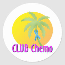 Lymphedema Classic Round Sticker