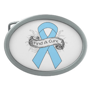 Lymphedema Find A Cure Ribbon Belt Buckles