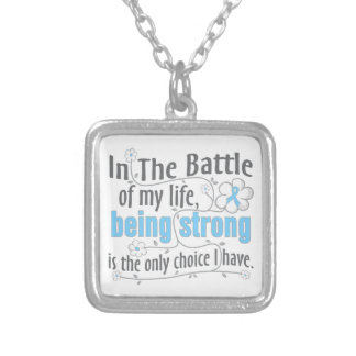Lymphedema In The Battle Personalized Necklace