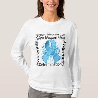 Lymphedema Inspirations Spiral Ribbon T-Shirt
