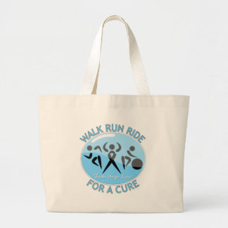 Lymphedema Walk Run Ride For A Cure Canvas Bag