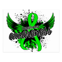 Lymphoma Awareness 16 Postcard