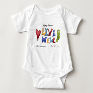 Lymphoma Awareness Baby Bodysuit