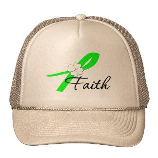 Lymphoma Awareness Faith Trucker Hat
