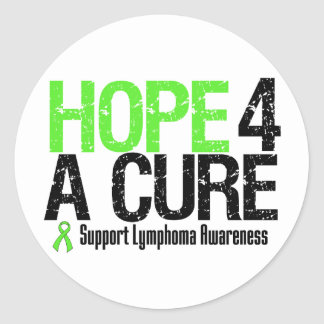 Lymphoma Awareness Hope For A Cure Sticker