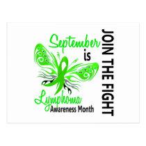 Lymphoma Awareness Month Butterfly 3.1 Postcard