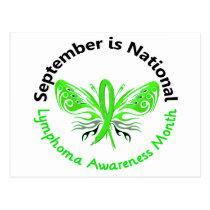 Lymphoma Awareness Month Butterfly 3.3 Postcard