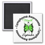 Lymphoma  Awareness Month Butterfly September Magnets