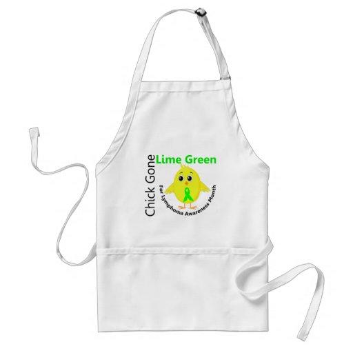 Lymphoma Awareness Month Chick 1 Aprons