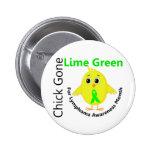 Lymphoma Awareness Month Chick 1 Pinback Button