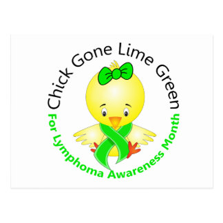 Lymphoma Awareness Month Chick 2 Postcard