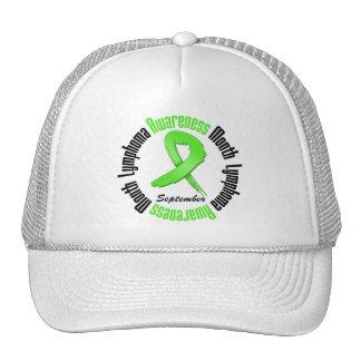 Lymphoma  Awareness Month Circular Trucker Hats