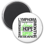 Lymphoma  Awareness Month Commemorative Refrigerator Magnet