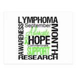 Lymphoma  Awareness Month Commemorative Postcard