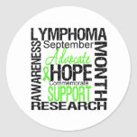 Lymphoma  Awareness Month Commemorative Stickers